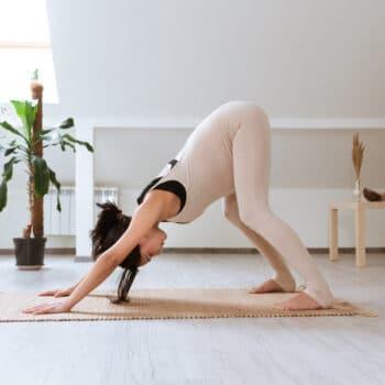 Adho mukha svanasana Yoga para embarazadas